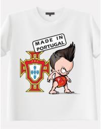 Tee Shirt garçon Made in Portugal