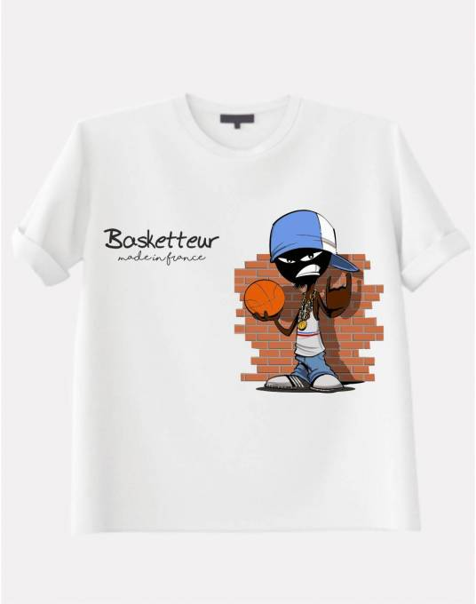 T Shirt: Basketteur made in france