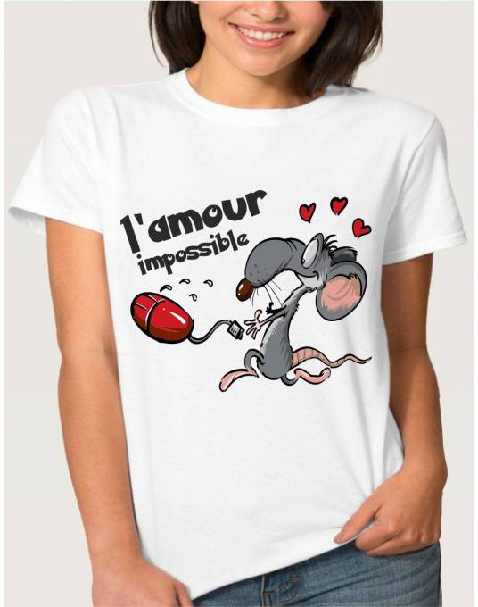 T-Shirt l'amour impossible