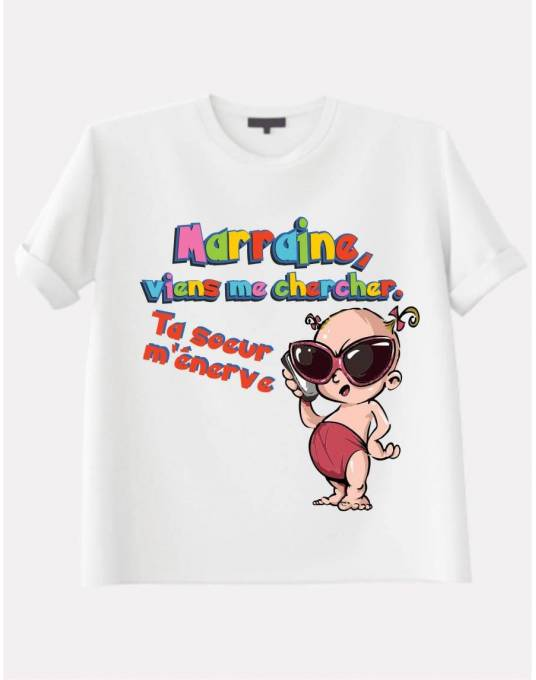 Tee shirt tata marraine
